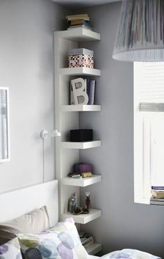 Good space saver, and makes everything more accessible than drawers....interesting, never thought of this before.