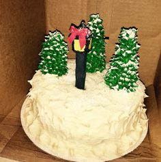 The Lion, the Witch, and the Wardrobe cake by C. S. Lewis. Made by Patsy's Sweet Shoppe in West Allis WI.