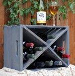 Wood Crate Wine RackAnything