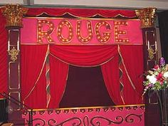 MOULIN ROUGE THEME PARTY DECOR RENTAL, PARIS, EIFFEL TOWER