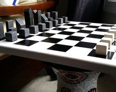 Chess Set Handcarved Custom Namibian Chess by JimArnoldsChessSets