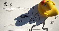 Artist Turns Shadows Of Everyday Objects Into Fun Illustrations