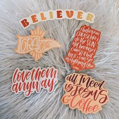 Neutral Sticker Collection pack) – Bibles and Coffee Laptop Stickers, Cute Stickers, Journal Stickers, Bumper Stickers, Bible Notes, Bible Scriptures, Aesthetic Stickers, Journaling, Note Cards