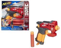 Nerf BigShock Blaster Gun N-Strike Mega Series Kids Toy Fun Game Christmas Gift Darts For Sale, Mega Series, Christmas Games, Windows 10, Fun Games, Nerf, Jin, Kids Toys, Gifts