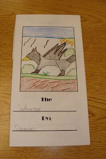 AWESOME Idea! Brochure on an animal. Explains the animals adaptation to environment AND their habitat... two standards at once... as well as a type explanatory text!