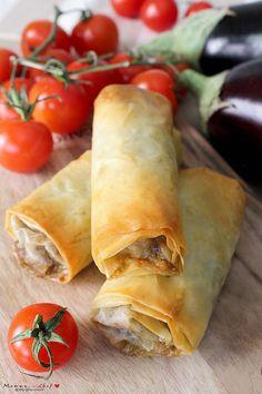 Finger Food Appetizers, Appetizer Recipes, Snack Recipes, Pasta Recipes, Vegan Recipes, Pasta Filo, Antipasto, Brunch, Pasta Primavera