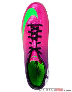 Nike Youth Mercurial Vapor IX FG Soccer Cleats - Fireberry with Electric Green...$84.99