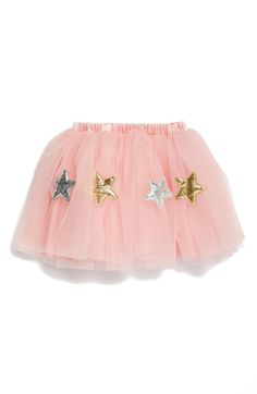 546d77a3e1e1 Free shipping and returns on Popatu Star Appliqué Tutu Skirt (Toddler Girls   amp  Little