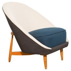 Theo Ruth for Artifort Model 115 Small Lounge Chair | From a unique collection of antique and modern side chairs at https://www.1stdibs.com/furniture/seating/side-chairs/