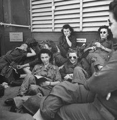 Army Nurses, 1945 (via Hotel de Ville: A Vintage Eyewear Blog: 1945)