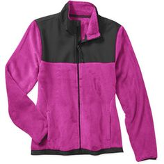 Danskin Now Women's Sport Fleece Jacket: Women : Walmart.com ...
