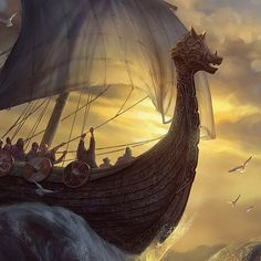 'Merely mention this name to a Nilfgaardian, and they'll feel a spreading warmth in their knickers…' My favourite topic - wild boars and pigs Viking Art, Viking Ship, Wild Boar, Fire, Concept, Horses, World, Campaign Ideas, Illustration