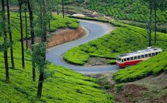Vagamon is a hill station located in Kottayam-Idukki border of Idukki district of Kerala, India. It has a cool climate with the temperature between 10 and 23 °C during a summer midday. It is situated 1,100 metres above sea level.