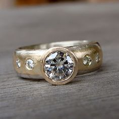 beautiful handmade bezel ring