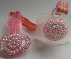 Baby Bling. Dummy and dummy clip.