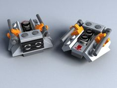 lego micro ship | ... of mine, and make some micro models of Star Citizen's iconic ships