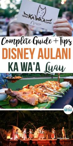 Staying at Disney Aulani resort? Read this guide and my tips for their KA WA'A luau - family activities in Oahu, Hawaii #aulani #oahu