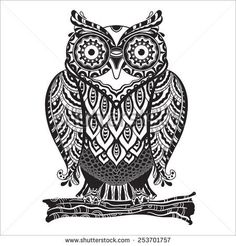 http://thumb101.shutterstock.com/display_pic_with_logo/2863708/253701757/stock-vector-vector-illustration-of-beautiful-monochrome-decorative-owl-with-a-lot-of-details-253701757.jpg