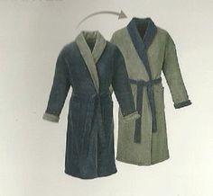 Mens Microfibre reversible bathrobe dressing gown knee length soft fleecy shawl Shawl, Dressing, Gowns, Men, Accessories, Fashion, Vestidos, Moda, Dresses