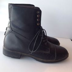 Middleburg Paddock Boots Black Leather Women's Size 8 #Middleburg