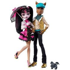 "Toys ""R"" Us - Monster High Draculaura y Clawd Wolf"