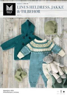 Søkeresultater for «baby Knitting For Kids, Baby Knitting Patterns, Baby Patterns, Knitting Yarn, Cute Baby Clothes, Doll Clothes, Baby Barn, Eco Clothing, Stylish Baby