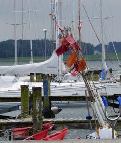 Boote im Hafen, Maasholm - Foto: S. Hopp