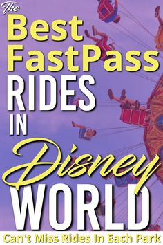Here are the best Disney Fast Pass Rides. If you want to make the most of your day here are the rides that you need to get fastness for right away. These are the best Walt Disney World Rides to book and ensure your trip is the best one ever. Walt Disney World Rides, Disney World Parks, Disney World Planning, Disney Dining Tips, Disney On A Budget, Disney World Tips And Tricks, Disney Tips, Disney Ideas, Disney Fast Pass
