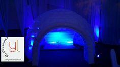 #ProduccionesYL #fiestastema #icebar #icelounge #fiestaesquimal #icebar #bluebar #bardehielo #coolbar #party #igloobar #igloo