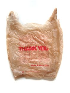 The Thank You bag is never really looked by anyone that doesn't do design, it usually just gets thrown away but for me there has always been this appreciate for it. Like most things that are …