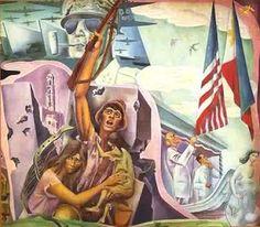 Carlos 'Botong' Francisco - Philippine History Mural (detail) Filipino Art, Philippine Art, Filipiniana, Artists Like, Surrealism, Philippines, Contemporary Art, Pinoy, Visual Arts