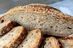 Pan di Pane: Ricetta Pane Integrale con semi o aromi a lievitaz...