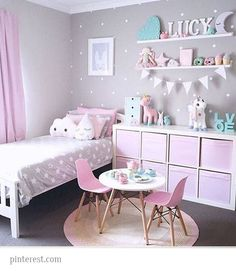 Sometimes a children room design may be the most tricky, because you never know the right accessories to use. Gray Playroom, Playroom Decor, Bedroom Colors, Bedroom Decor, Bedroom Ideas, Best Crib, Kids Room Design, Little Girl Rooms, Girls Bedroom
