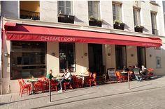 Standing on a side street near place de la République, Chameleon Restaurant serves up innovative, delicious cuisine. http://www.parisinsights.com/restaurants.php
