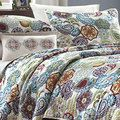 Mizone Asha 4-piece Paisley Polyester Patterned Microfiber Quilt Set | Overstock.com Shopping - The Best Deals on Kids' Bedding