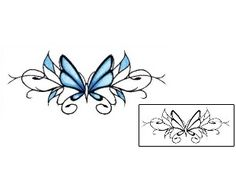 Show details for Lower-back Tattoo PLF-00097