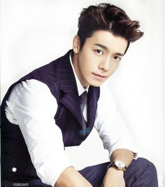 Donghae - 이동해 from Super Junior, Panda and Hedgehog - 판다양과 고슴도치 (2012)