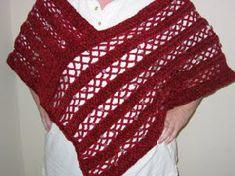 Free Crochet Patterns Plus Size Ponchos : Plus Size Crochet on Pinterest Plus Size Patterns, Plus ...