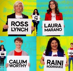 New Credits for Austin and Ally Disney Channel Shows, Disney Shows, Celebrity Travel, Celebrity Dads, Austin Moon, New Disney Movies, Raini Rodriguez, Laura Marano, Austin And Ally