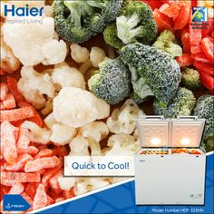 #Haier #DeepFreezer is big on space and quick at cooling. #Technology #Appliance #HaierIndia #InspiredLiving #CommercialFreezer
