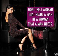 Be that Woman x