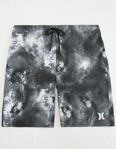 e8105f69281 HURLEY Phantom JJF 3 Nebula Mens Boardshorts - BLACK - 284902100
