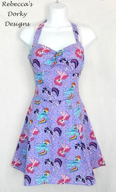Hey, I found this really awesome Etsy listing at https://www.etsy.com/listing/195398361/my-little-pony-dress