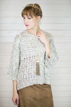Mystic Multi Knit Sweater #shopmaude www.shopmaude.com