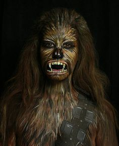 Pin for Later: This Makeup Artist's Comic Book Transformations Will Make Your Skin Crawl Chewbacca