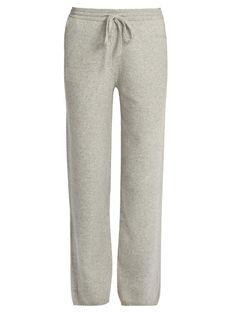 Joseph Mid-rise wide-leg wool trousers