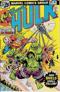 Incredible Hulk 199  May 1976 Issue  Marvel Comics  by ViewObscura