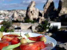 A turkish breakfast in Goreme, Cappadocia