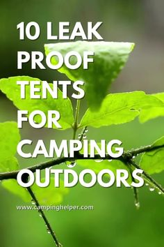It's important to know that there are different waterproof index ratings for tent floors, wall fabric, and rainfly fabric. Most tents wont distinguish the differences but will only list one number.  #camping#tents#tentcamping Couples Camping, Best Tents For Camping, Cool Tents, Family Camping, Camping Ideas, Tent Camping, Camping Hacks, Outdoor Camping, Waterproof Tent