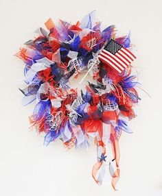 D.I.Y. Patriotic Wreath